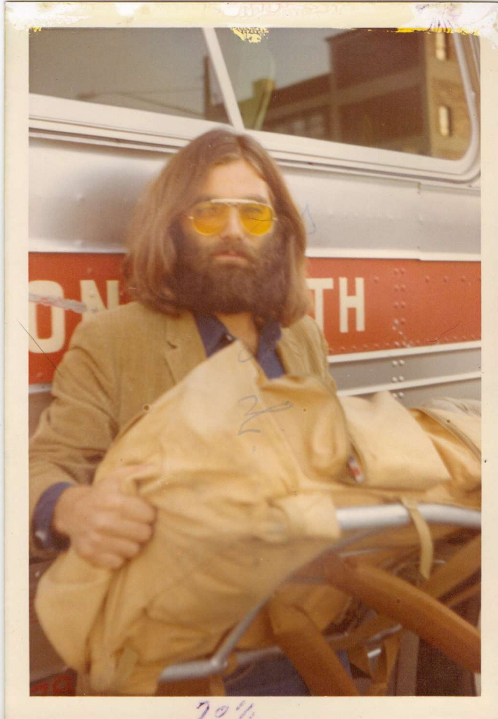 Brother Jed as a hippie