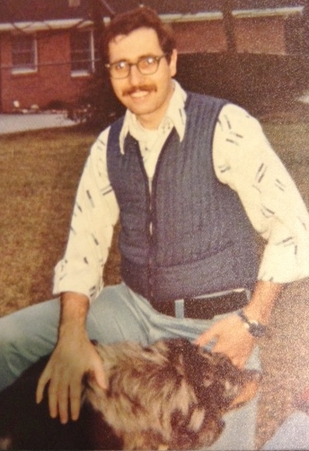 Bro. Raymond as a young man.